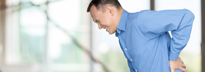 Chiropractic Fort Myers FL Man with Back Pain